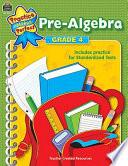 Pre Algebra  Grade 4