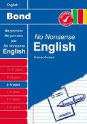 Bond No Nonsense English 8-9 Years