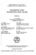 Proceedings of the ... International Symposium on Diamond and Diamond-like Films