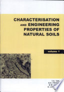 Characterisation and Engineering Properties of Natural Soils
