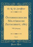 Österreichische Militärische Zeitschrift, 1867, Vol. 1