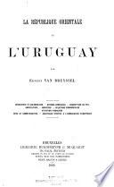 La république orientale de l'Uruguay