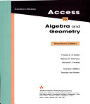Addison Wesley Access To Algebra And Geometry