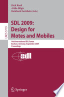 SDL 2009  Design for Motes and Mobiles