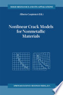 Nonlinear Crack Models for Nonmetallic Materials
