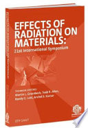 Effects of Radiation on Materials