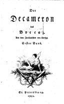 Der Decameron