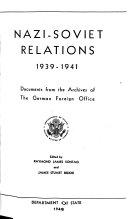 Nazi Soviet Relations  1939 1941