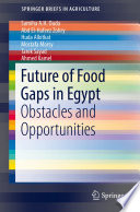 Future Of Food Gaps In Egypt