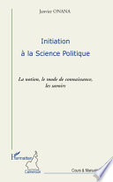 Initiation à la science politique