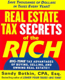 Real Estate Tax Secrets of the Rich