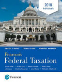 Pearson s Federal Taxation 2018 Individuals