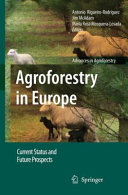 Agroforestry in Europe Book