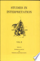 Studies In Interpretation book