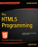 download ebook pro html5 programming pdf epub