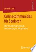 Onlinecommunities für Senioren
