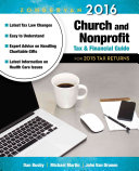 Zondervan 2016 Church and Nonprofit Tax and Financial Guide
