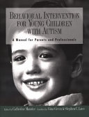 Behavioral Intervention for Young Children With Autism