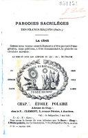 Book La Franc-maçonnerie démasquée