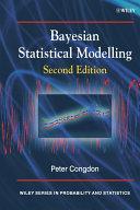 Bayesian Statistical Modelling