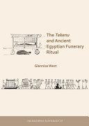 The Tekenu and Ancient Egyptian Funerary Ritual