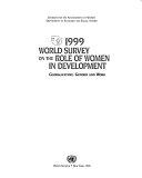 1999 World Survey On The Role Of Women In Development