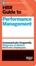 HBR Guide to Performance Management  HBR Guide Series