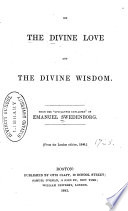 On The Divine Love And The Divine Wisdom