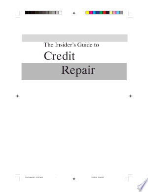The Insider's Guide to Credit Repair - ISBN:9781564148094