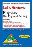 Let S Review Physics The Physical Setting