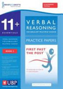 11+ Essentials Verbal Reasoning, Vocabulary for Cem Multiple Choice