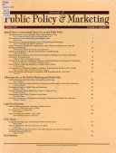 Journal Of Public Policy Marketing Jpp M