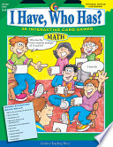 I Have Who Has Math Gr 5 6 Ebook