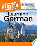 The Complete Idiot S Guide To Learning German 3rd Edition