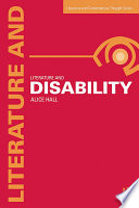 Literature and Disability Book PDF