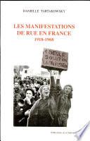 Les manifestations de rue en France, 1918-1968