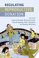 Regulating Reproductive Donation Book PDF