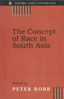 The Concept of Race in South Asia