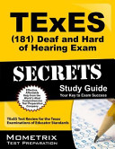 TExES  181  Deaf and Hard of Hearing Exam Secrets