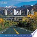 Off the Beaten Path Book PDF