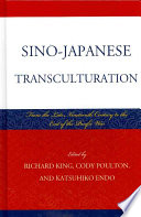 Sino Japanese Transculturation