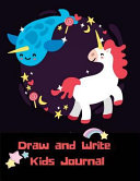 Draw And Write Kids Journal