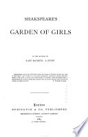 Shakspeare s Garden of Girls  by the Author of  Lady Macbeth  a Study