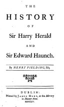 download ebook the history of sir harry herald and sir edward haunch, by henry fielding [or rather by an unknown author]. pdf epub