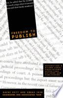 Freedom To Publish
