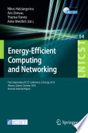 Energy Efficient Computing and Networking