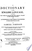 A Dictionary Of The English Language [Pdf/ePub] eBook