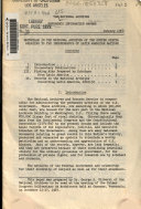 Materials in the National Archives of the United States Relating to the Independence of Latin American Nations
