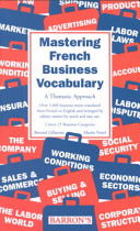 illustration du livre Mastering French Business Vocabulary
