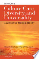 Leininger s Culture Care Diversity and Universality